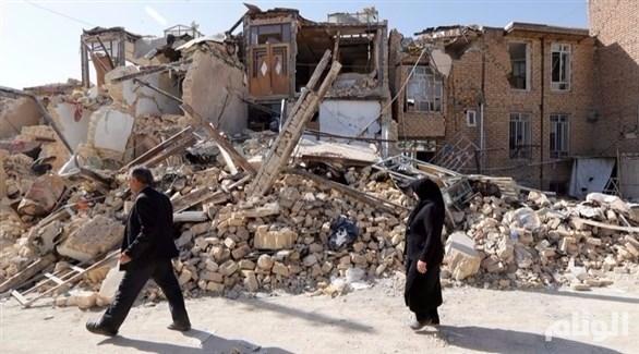 هزة أرضية بقوة «3.4» درجات تضرب غربي إيران