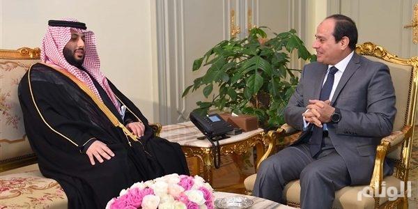 الرئيس المصري يستقبل رئيس مجلس إدارة الهيئة العامة للرياضة السعودية