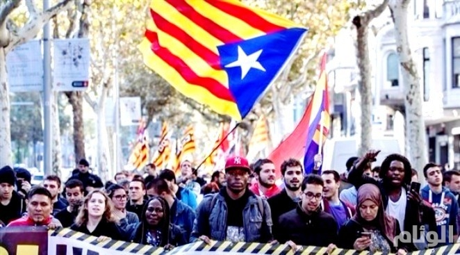 القضاء الإسباني يحدد الإثنين مصير «10» من قادة انفصال كاتالونيا