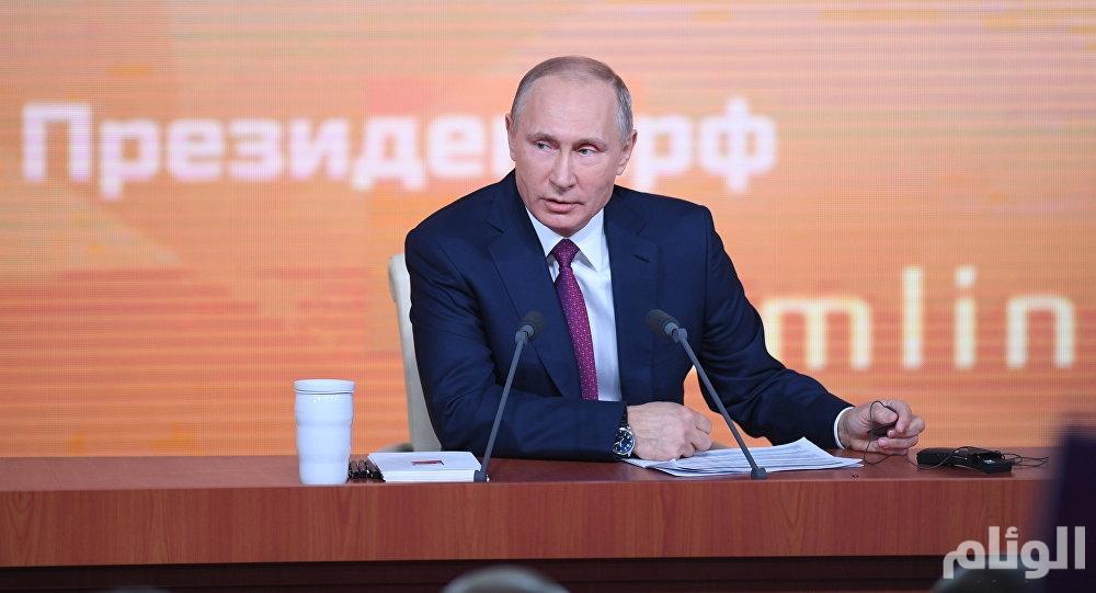 بوتين: لا يوجد معارضين ولامنافسين على السلطة.. سأترشح للرئاسة في 2018