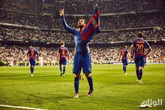 برشلونة يحلق في الصدارة ويضرب مدريد بالثلاثة