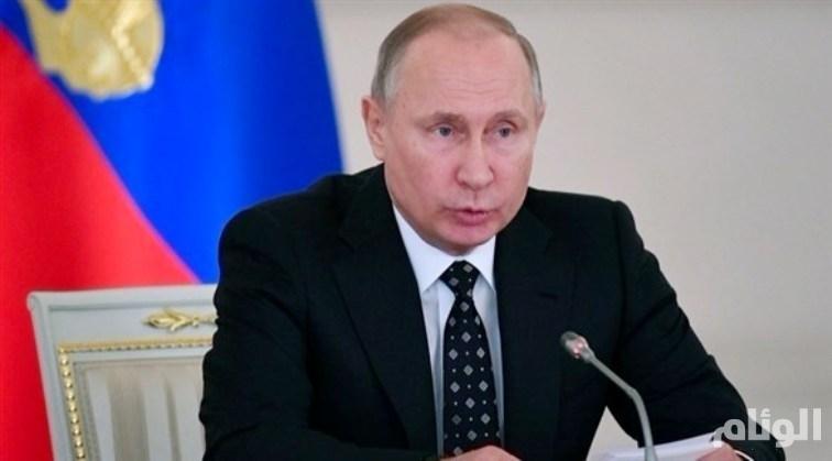 بوتين: الإرهابيون في إدلب مستعدون لاستخدام أسلحة كيمياوية