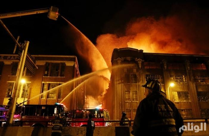 مصرع «12» شخصاً في حريق بمبنى سكني بمدينة نيويورك