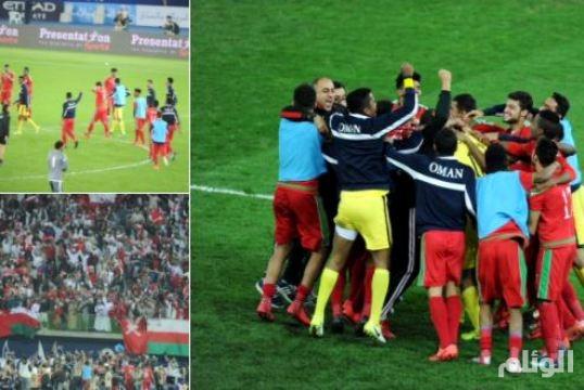 قادة الإمارات يهنئون منتخب سلطنة عمان بكأس الخليج