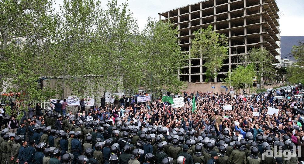 مقتل 20 متظاهرًا في إيران