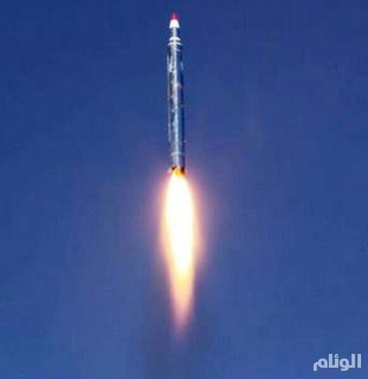 اعتراض صاروخ بالسيتي في سماء الرياض