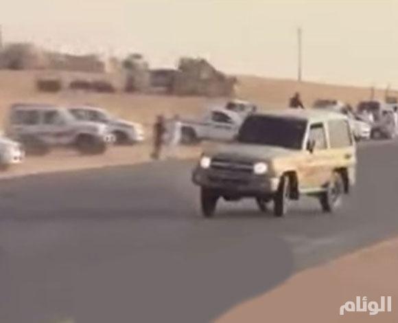"""إيقاف شخص بالقصيم ينشر مخالفاته المرورية على حسابه بـ""""سناب شات"""""""