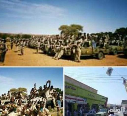 بالصور: عشرات الآلاف من قوات الدعم السريع والجيش السوداني تصل حدود السودان وارتريا