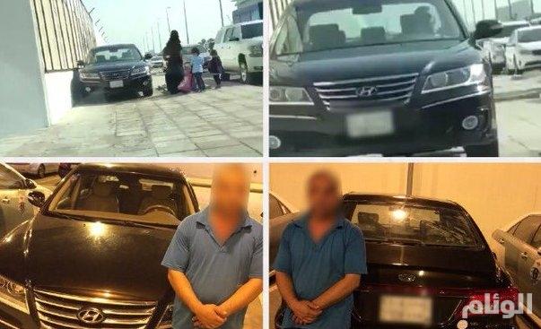 القبض على سائق المركية الهونداي التي تسير على رصيف المشاة في جدة
