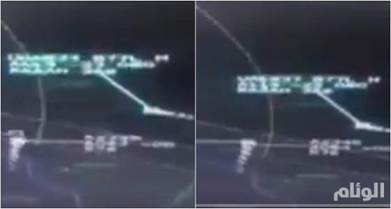 شاهد.. مقطع فيديو يرصد اعتراض المقاتلات القطرية لطائرة مدنية إماراتية