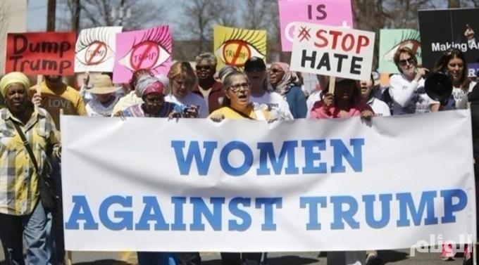 أمريكا: مسيرات نسائية احتجاجاً على السنة الأولى لرئاسة ترامب