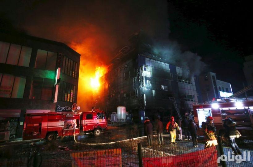 «31» قتيلاً جراء حريق داخل مستشفى بكوريا الجنوبية