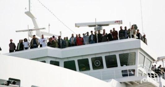 غرق عبّارة على متنها «80» شخصًا في المحيط الهادئ