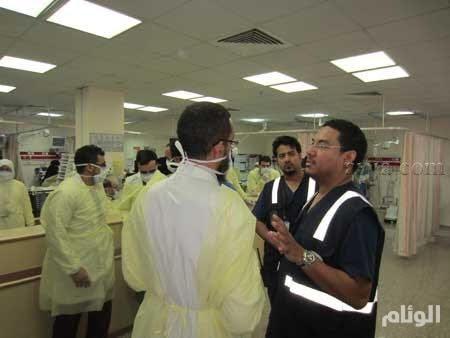 إصابة «24» معتمراً في حادث تصادم ونقلهم لمستشفيات مكة المكرمة