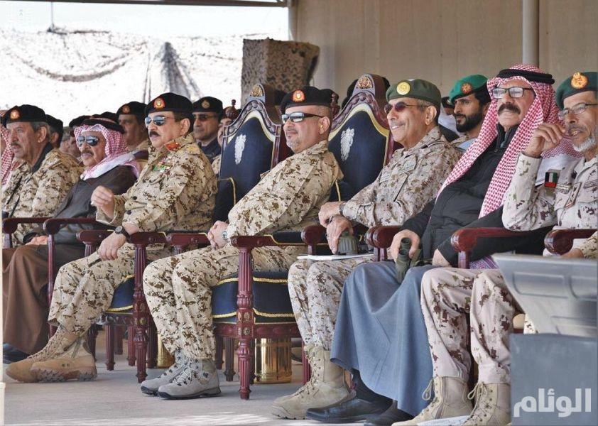 ملك البحرين يرعى التمرين التعبوي المشترك «قوة العزم»