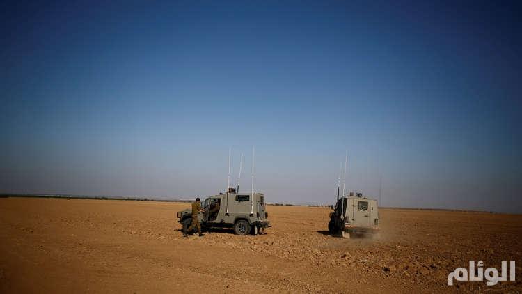 استهداف قوة عسكرية إسرائيلية على الحدود مع غزة