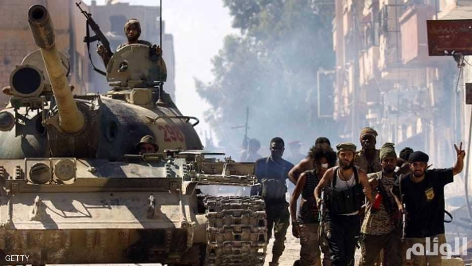 سقوط عدد من القتلى والجرحى وسط بنغازي