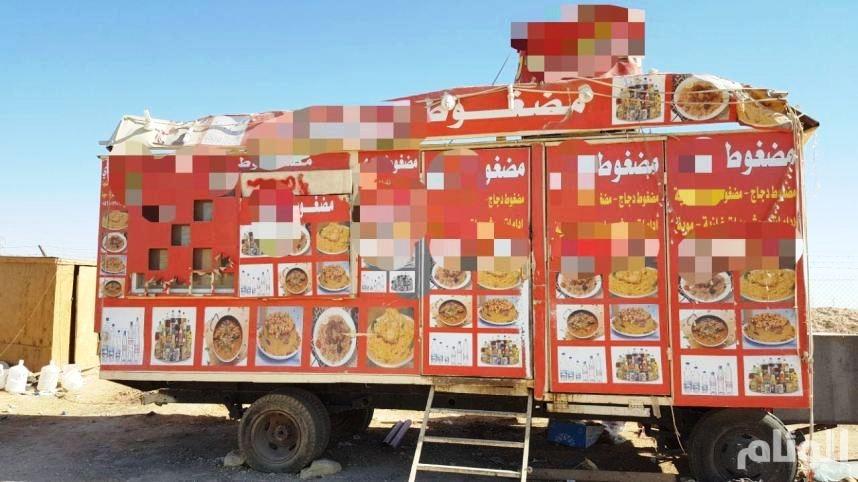 بالصور: شرطة الرياض تضبط «50» موقعاً عشوائياً في الثمامة