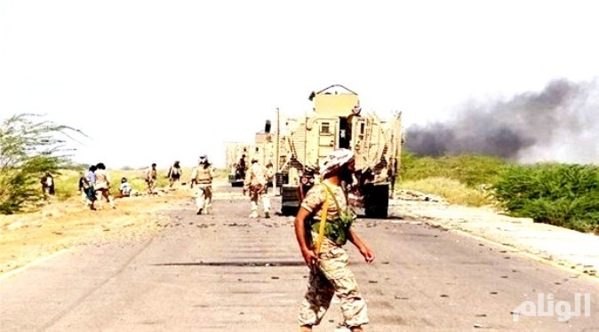 الجيش اليمني يأسر حوثيين بقرب مطار الحديدة