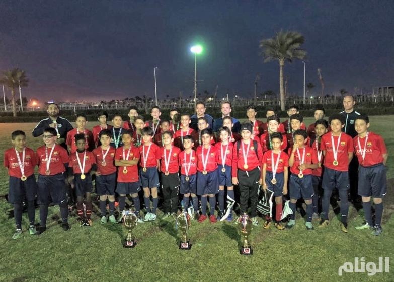مدرسة برشلونة تسيطر على بطولات الغردقة