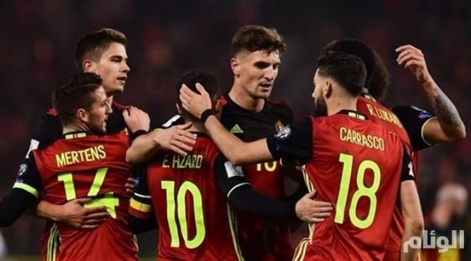 بلجيكا تواجه السعودية استعداداً لمونديال روسيا