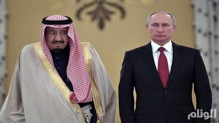 الكرملين: الملك سلمان والرئيس بوتين بحثا الوضع في سوريا واستقرار أسواق النفط 