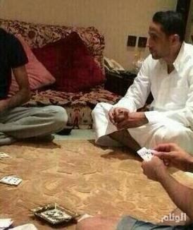 سامي الجابر يعلق على بطولة البلوت.. وآل الشيخ يمازحه: لاتحتاج رخصة