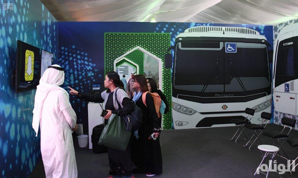 «الحج» تكشف عن أكبر منصة في العالم لتتبع حافلات نقل الحجاج