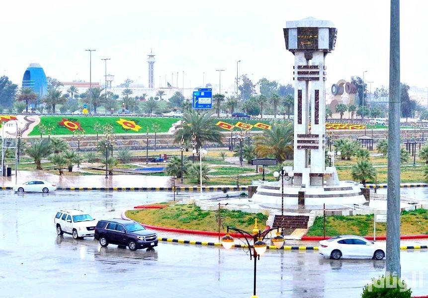 حالة الطقس: أمطار رعدية بالشمالية وجازان ونجران