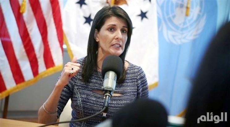 المندوبة الأمريكية في الأمم المتحدة: أمريكا لن تجري أي محادثات مباشرة مع بشار الأسد