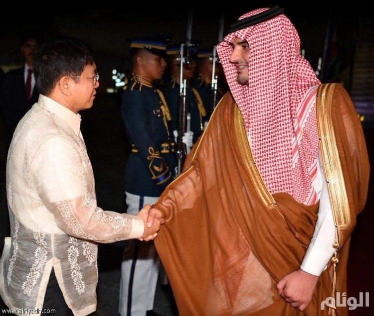 وزير الداخلية يصل الفلبين
