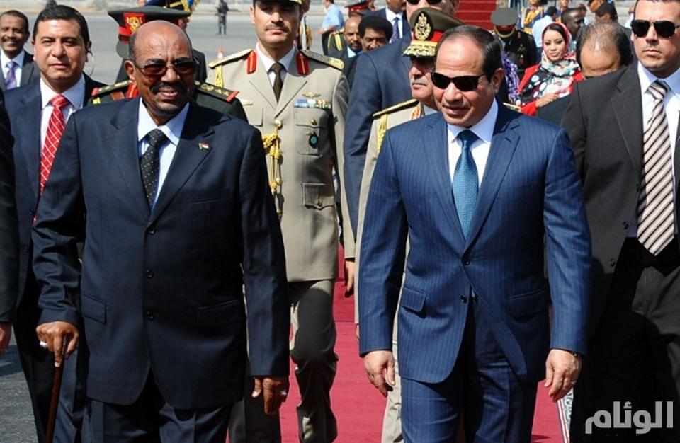 قمة بين البشير والسيسي في القاهرة