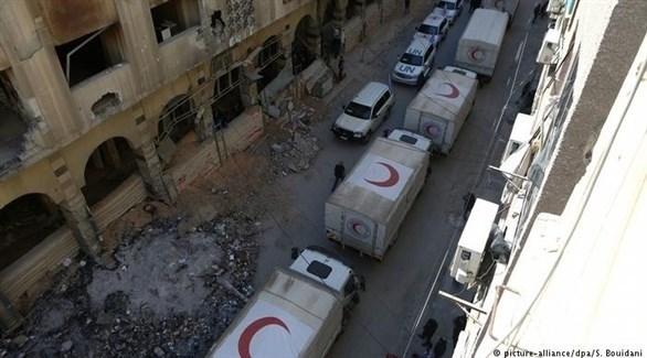 الغوطة الشرقية: خروج مسلحين ودخول مساعدات