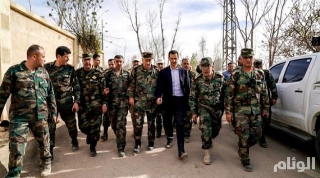 إجراءات في دمشق تحسباً لضربة أمريكية