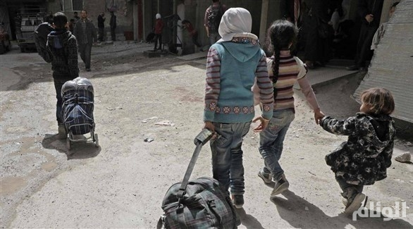 روسيا: أكثر من «105» آلاف مدني غادروا الغوطة
