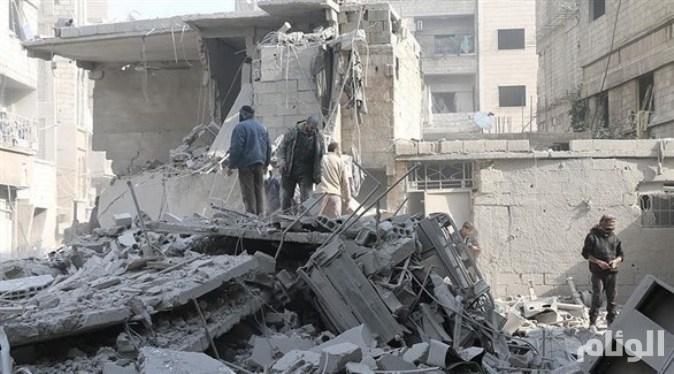 قصف ريفي إدلب وحماة واشتباكات بحلب