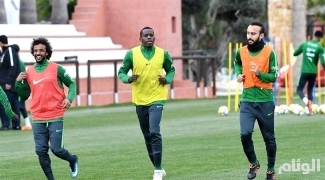 المنتخب السعودي يواصل تدريباته في إسبانيا