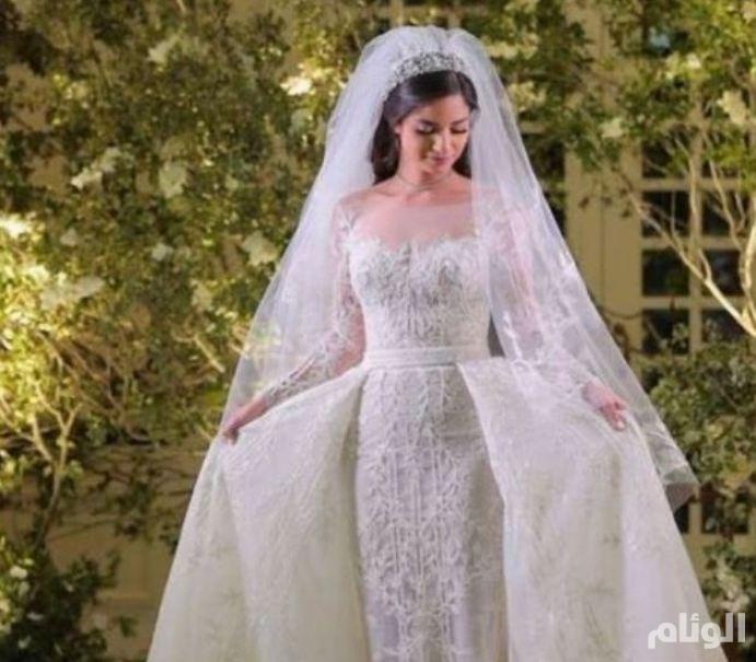 بالصور: زفاف علا الحريري
