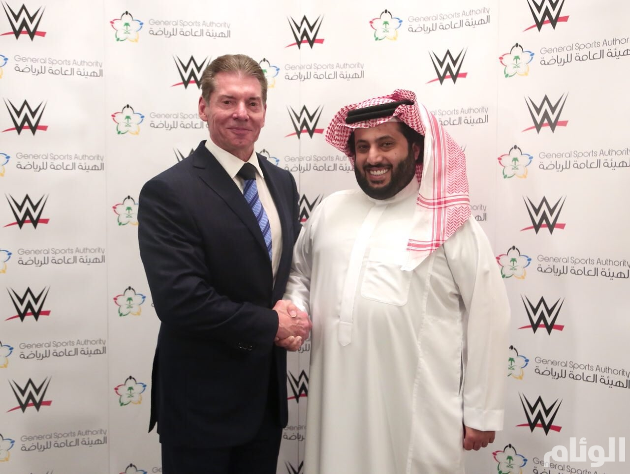 Image result for vince mcmahon saudi arabia""