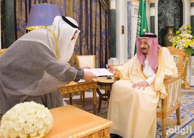 فحوى رسالة أمير الكويت للملك سلمان