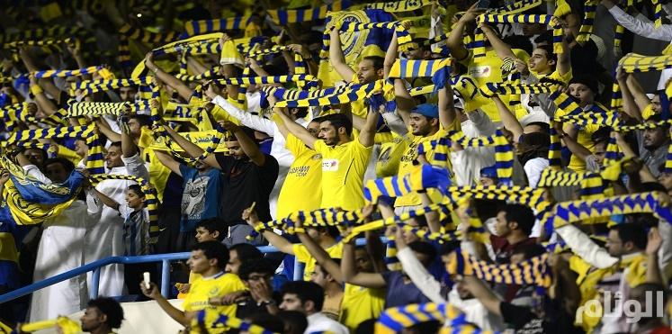"""جماهير النصر تتصدر """" تويتر """" وتدعم حملة ادعم ناديك"""