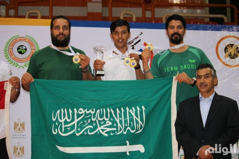 هيمنة سعودية على ذهب البطولة العربية للرماية