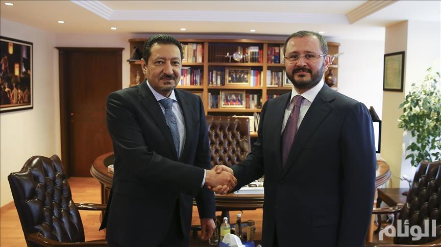 """السفير السعودي يزور مقر """"الأناضول"""" بأنقرة"""