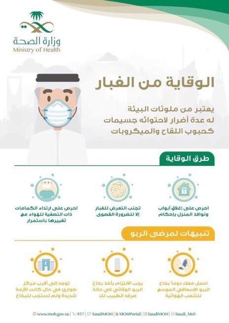 استعدادات لمواجهة موجة الغبار في مكة