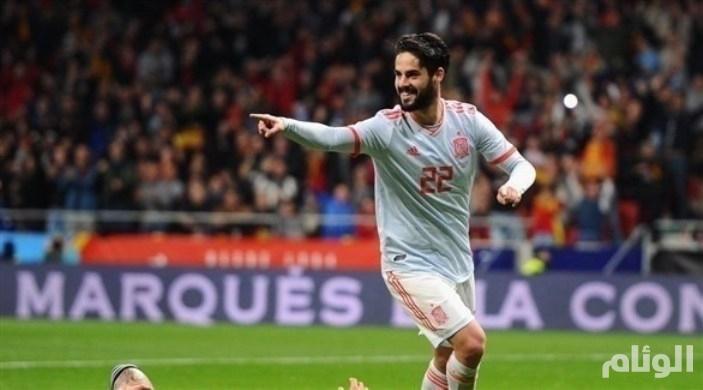 إيسكو يقود إسبانيا لسحق الأرجنتين بالـ6
