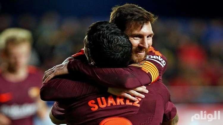 برشلونة بطلا للدوري الإسباني