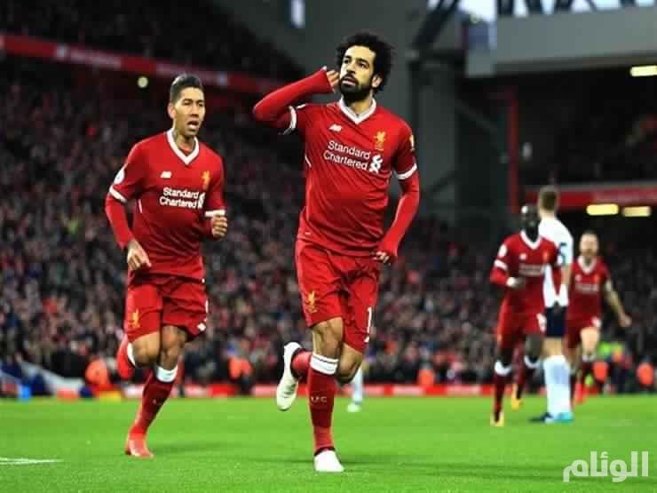 صلاح يقود ليفربول لاكتساح النجم الأحمر برباعية في دورى الأبطال