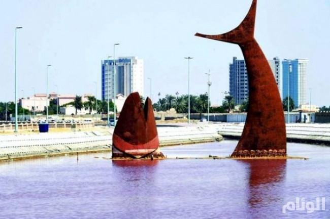 أسباب تلوث بحيرة السمكة في جدة