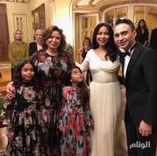 شاهد .. لقطات من زفاف الفنانة شيرين عبد الوهاب