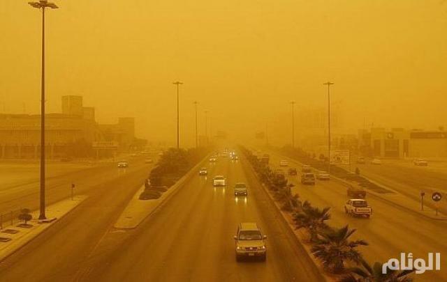الأرصاد : رياح محملة بالغبار والأتربة على هذه المناطق غدا